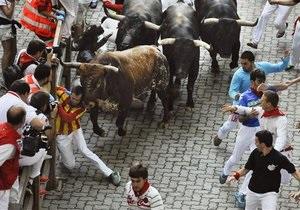 Новости Испании - фестиваль Сан-Фермин: В Памплоне в заключительный день забегов с быками пострадали пять человек