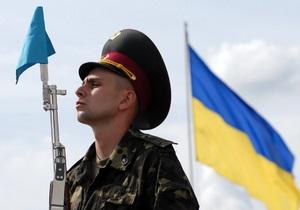 Армия - украинская армия - призыв - Минобороны - В Украине могут ввести добровольную службу в армии