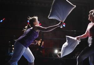 В Нью-Йорке прошел чемпионат мира по боям подушками