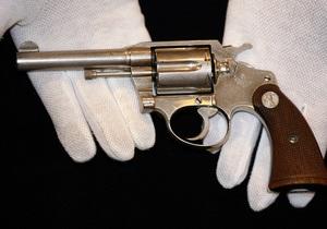 Оружие американских гангстеров выставили на аукцион