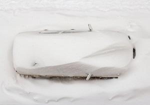 Фотогалерея: Белый Львов. Рекордный снегопад в середине марта
