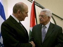 Эхуд Ольмерт и Махмуд Аббас провели встречу в Иерусалиме