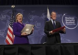 США и Россия договорились утилизировать по 34 тонны оружейного плутония