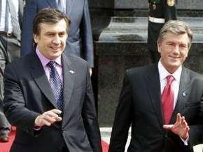 РИА Новости: Саакашвили - Ющенко: дуэт на бандуре