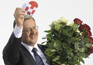 Литвин поздравил нового президента Польши