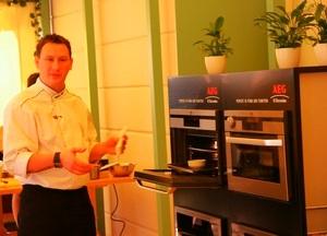 Вкус непревзойденных блюд обеспечивает техника AEG-Electrolux