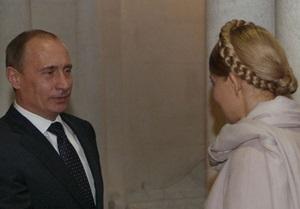 Ющенко: Тимошенко в Москве ведет переговоры не с Путиным
