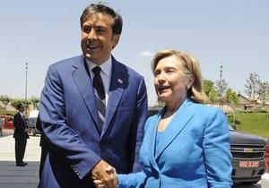 Саакашвили заявил, что Грузия и США разделяют одни и те же ценности