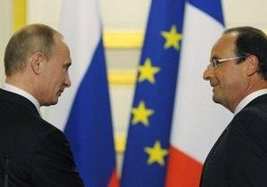 Президенты РФ и Франции обсудили заключение Тимошенко: Ее место не в тюрьме