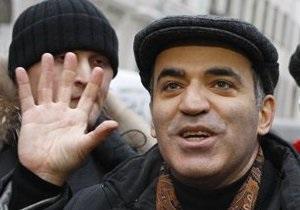 Каспаров заявил, что оппозиция пока не готова к установлению палаток в центре Москвы