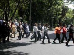 В столице Мексики произошло сильное землетрясение