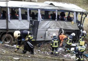 ДТП - СМИ: В Бельгии разбился автобус с подростками из Украины и России