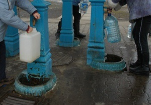 Киевводоканал в этом году будет обслуживать 118 бюветов
