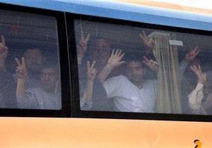 Израиль освободил всех иностранцев, задержанных при перехвате Флотилии свободы
