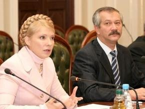 СМИ: Тимошенко отправит в отставку Пинзеника и Винского