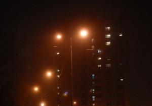 В Киеве часть Оболони осталась без света
