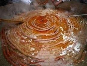 Хорваты изготовили полукилометровую сосиску