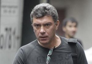 В Москве задержали Немцова и Яшина
