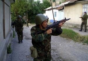 В Кыргызстане милиция обезвредила вооруженного мужчину, захватившего пассажирский автобус