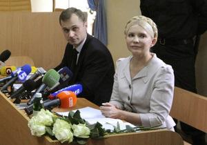 Тимошенко отказалась от услуг адвоката Титаренко