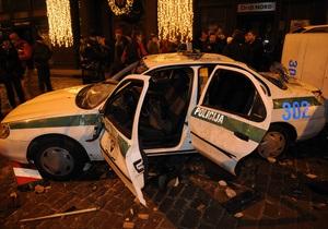 В Латвии проходит масштабная операция по поимке угонщика полицейской машины