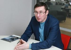 Луценко признался, что книги были лучшим способом  побега из тюрьмы