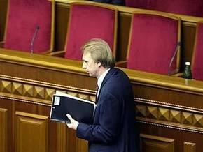 Литвин подписал постановление об отставке Огрызко