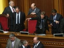 БЮТ не сдержал обещания: Рада заблокирована