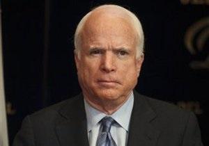 Сегодня Джон Маккейн прибудет в Грузию