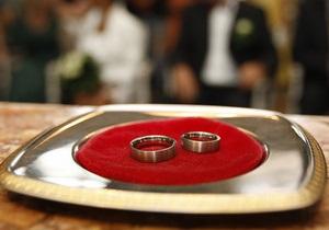 2010 год стал рекордно низким по количеству разводов в Украине