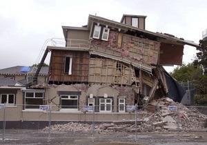 В Новой Зеландии произошло второе мощное землетрясение