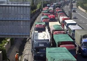 В Китае при аварии туристического автобуса погибли 10 человек