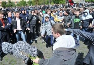 Опрос: Большинство львовян считают, что виновными в событиях 9 мая являются пророссийские силы