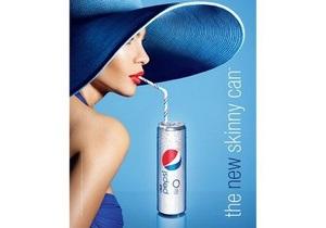 Pepsi Diet сняла в рекламе новой банки модель из Топ-3 самых желанных женщин мира