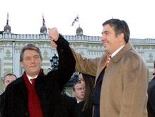 Ющенко поздравил Саакашвили с победой