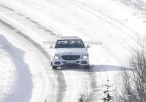 В интернете появились фотографии нового Mercedes C-Class