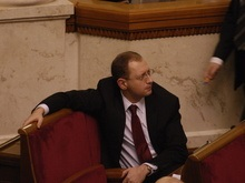 Яценюк пригрозил Партии регионов адекватными мерами