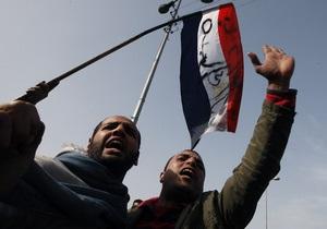 Египетские исламисты намерены разорвать мирный договор с Израилем после свержения Мубарака