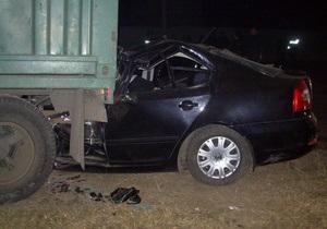 Гибель футболистов в Полтавской области: водитель автомобиля был пьян