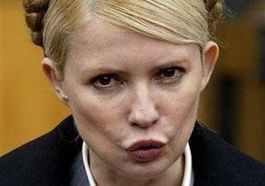 Тимошенко требует встречи с министром иностранных дел Швеции