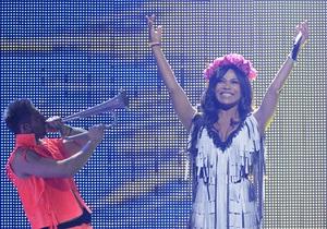 Фотогалерея: Во всей красе. Репетиция Гайтаны на Евровидении-2012