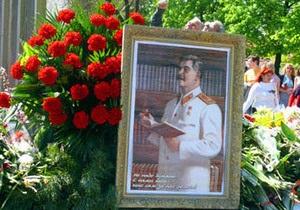 В Луганске коммунисты приравняли Сталина к Гитлеру