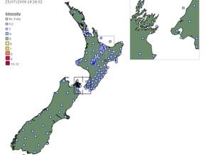 Землетрясение придвинуло Новую Зеландию к Австралии на 30 сантиметров