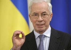 Азаров: В Украине не обсуждается вопрос придания русскому языку статуса государственного