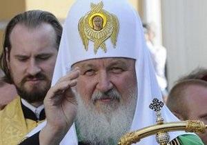 Московский патриарх впервые за 19 лет провел богослужение в Софии Киевской