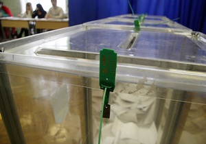 Несколько киевских избирательных участков остались без света