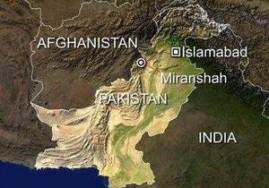 В Пакистане разбился американский беспилотник