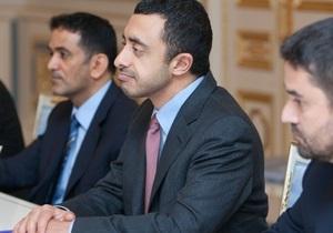 ОАЭ намерены открыть в Украине посольство