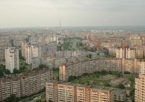 В Киеве на Троещине горят торфяники