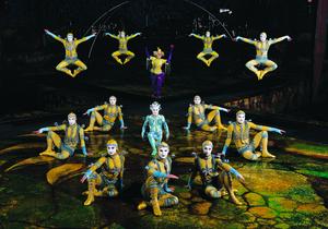 В Киеве вновь выступит легендарный Cirque du Soleil